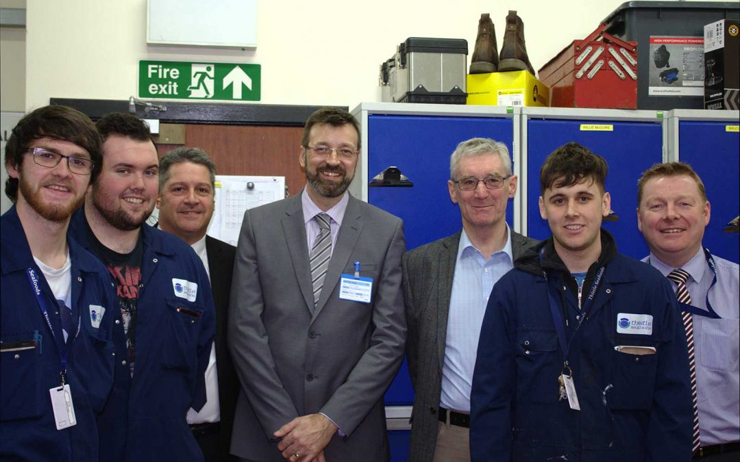 Peter Chapman MSP Visits Thistle Seafoods