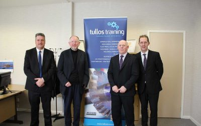 Tom Mason MSP Visits Tullos Training